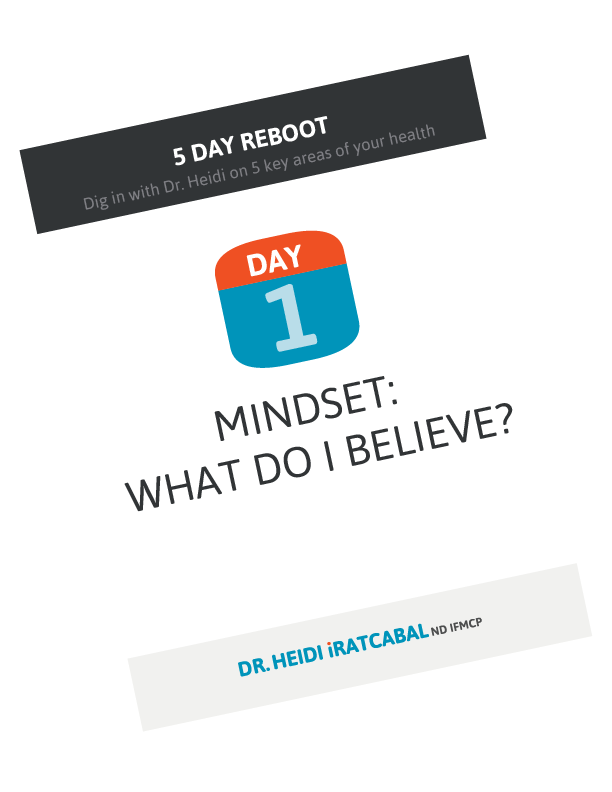 5 Day Reboot: Day 1, Mindset