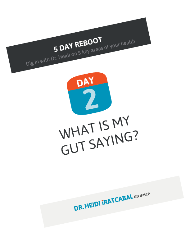 5 Day Reboot: Day 2, What is my gut saying?